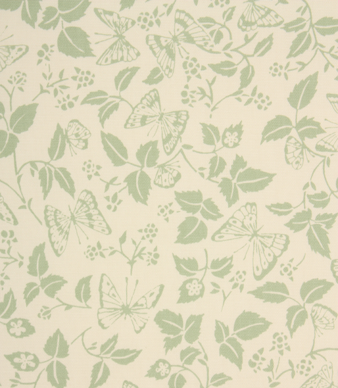 Butterfly Leaf Fabric / Green