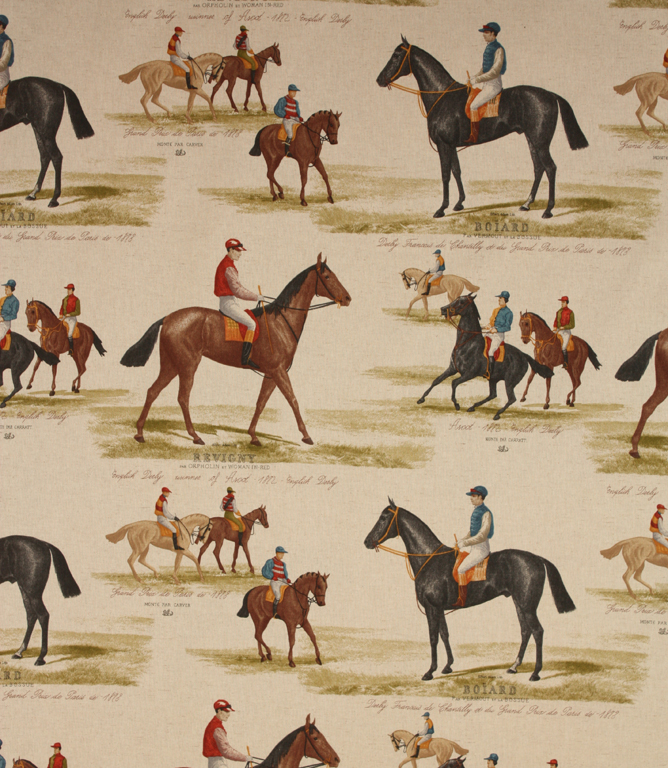Derby Fabric / Multi