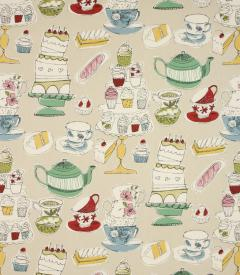Afternoon Tea Fabric / Linen