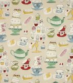 Afternoon Tea / Linen Fabric