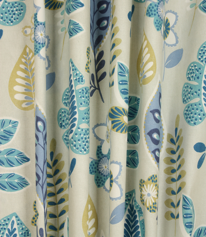 Folia Fabric / Vintage Blue