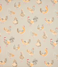 Made to Measure Rooster Clarke Fabric / Taupe