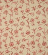 Made to Measure Fulbrook Linen Fabric / Red