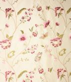 Alondra Fabric / Cream / Pink