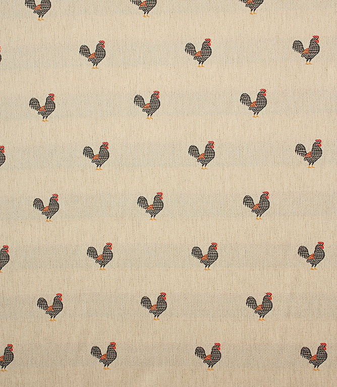 rooster c fabric black just fabrics. Black Bedroom Furniture Sets. Home Design Ideas
