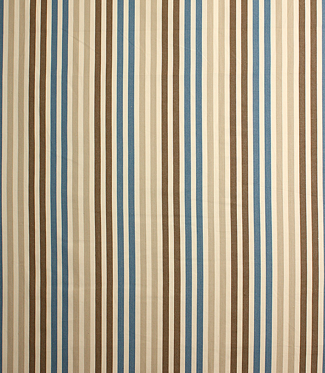 Ibiza Stripe Fabric Check Stripes Fabric Just Fabrics