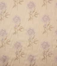 Made to Measure Voyage Decoration Peony Fabric / Soft Violet