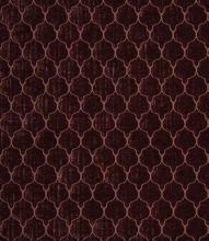 Made to Measure Voyage Decoration Tabriz Clear Fabric / Aubergine