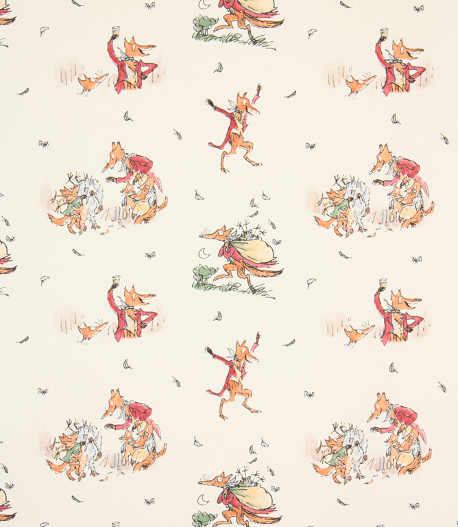 Fantastic Mr Fox Fabric Multi Just Fabrics