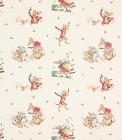 Fantastic Mr Fox Fabric / Multi