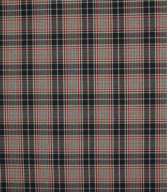 Durham Check Fabric / Navy