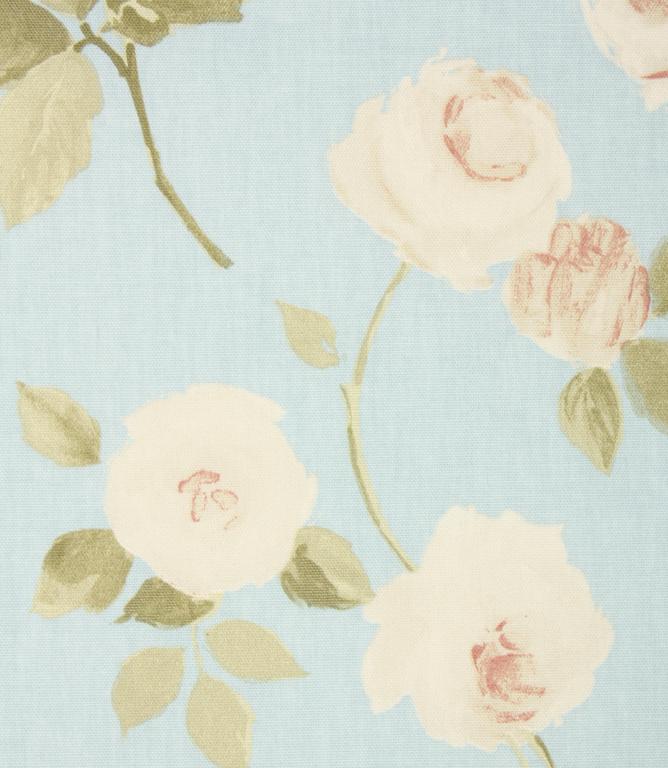 Harriet Fabric Powder Blue Just Fabrics