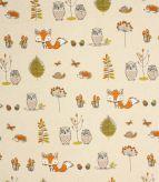 Woodland Fox / Terracotta Fabric