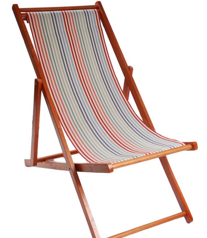 Ian Mankin Deckchair Canvas 1 Fabric / Ascot