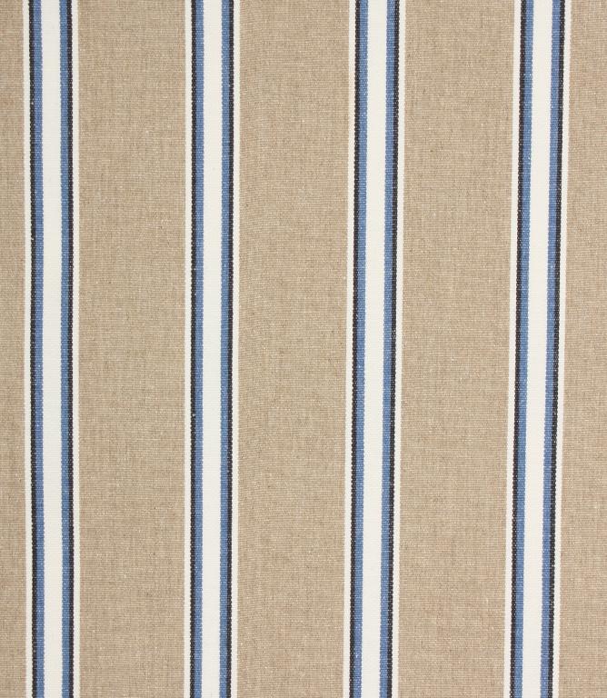 Ian Mankin Deckchair Wicket Fabric / Indigo