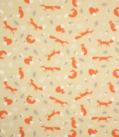 Mr Fox Fabric / Natural