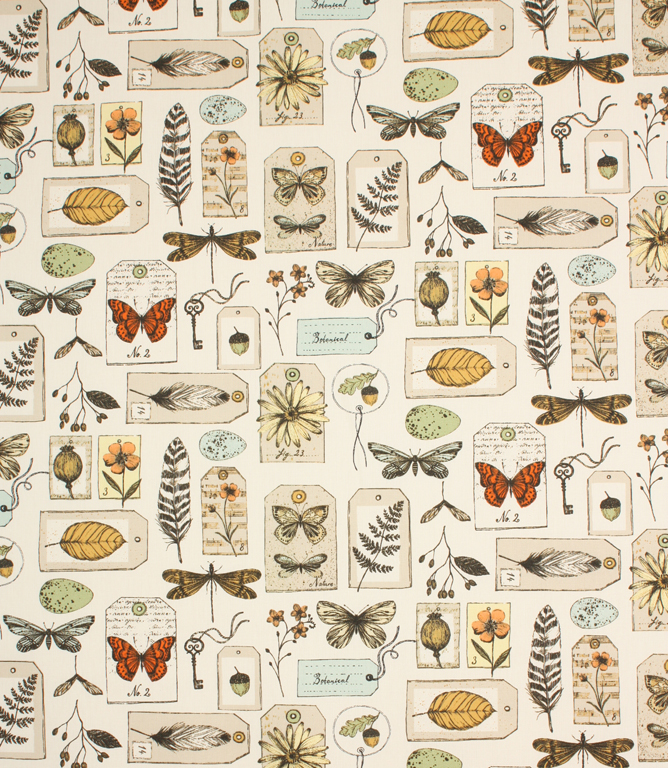 Wildlife Fabric Multi Just Fabrics