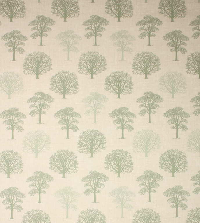 Wood Fabric / Green