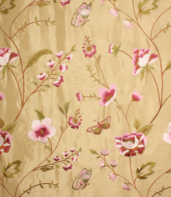 Voyage Decoration Alondra Fabric / Pink / Gold