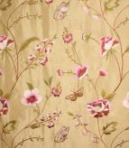 Alondra / Pink / Gold Fabric