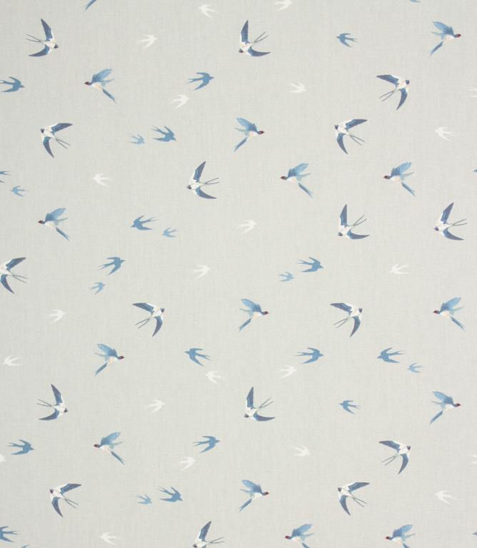 Sophie Allport Swallow Fabric Sky Just Fabrics