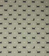 Made to Measure Sophie Allport Cat Fabric / Sage