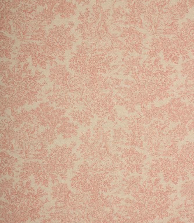Zen Toile Fabric / Red