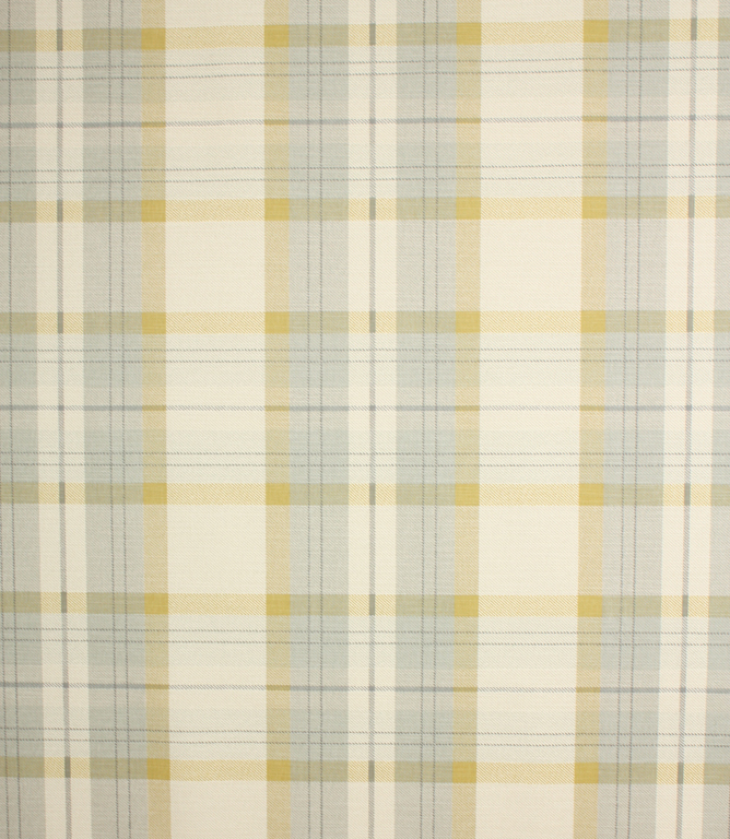 Chartreuse Munro Check Fabric