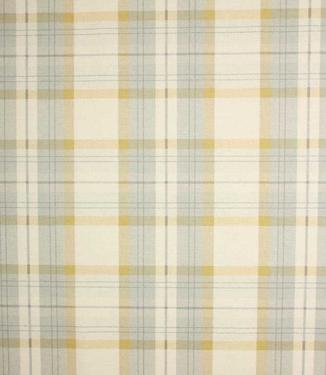 Munro Check Fabric / Chartreuse