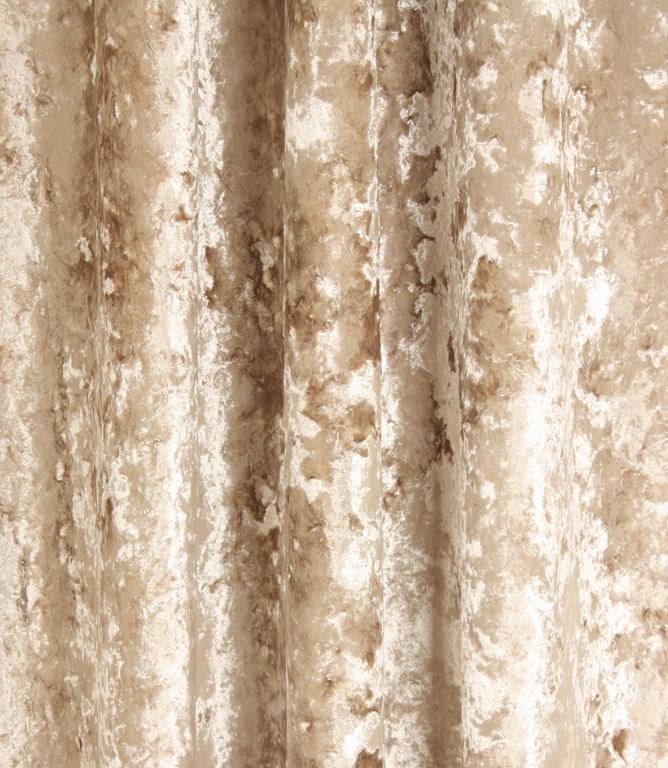 Fibre Naturelle Fabrics Panther Fabric / Champagne