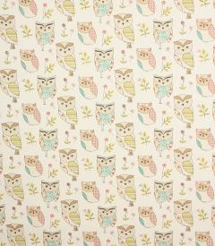 Hoot Owl Fabric / Sage