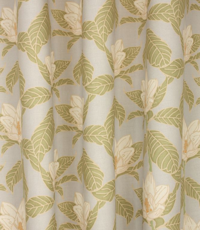 Magnolia Linen Fabric Stone Just Fabrics