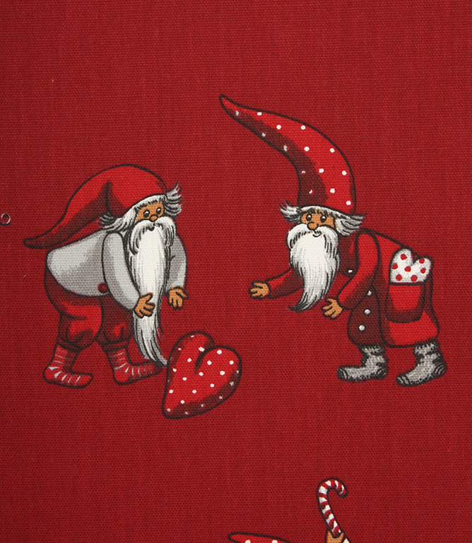 Christmas Craft Fabric / Red
