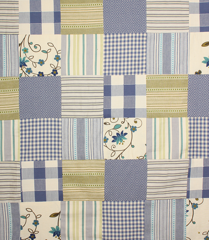 voyage decoration dorothy patchwork fabric delphinium just fabrics