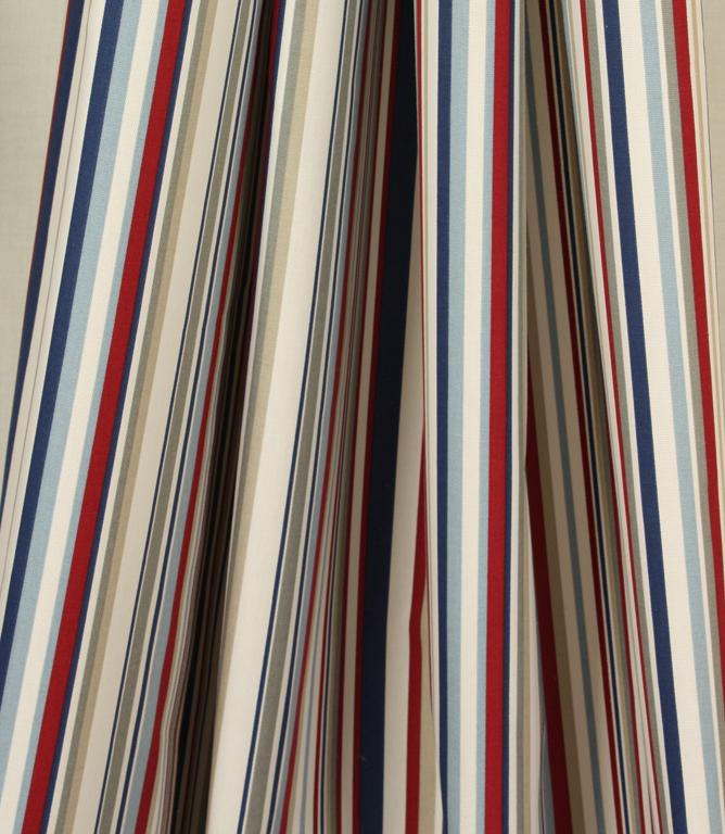 Funky Stripe Fabric / Blue