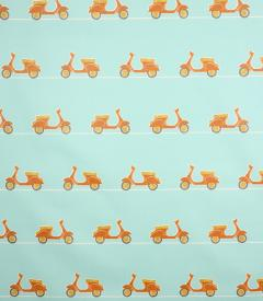 PVC Vespa Ride Fabric