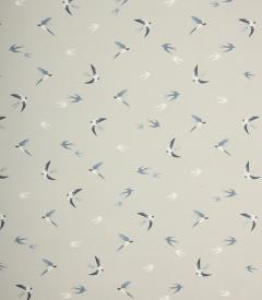 Swallow Oil cloth Fabric