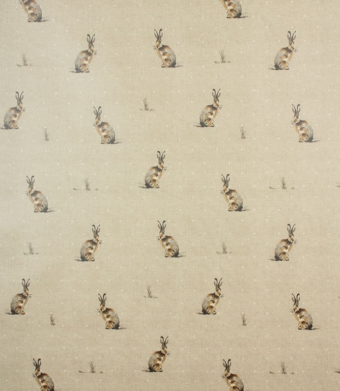 Harry Hare PVC Fabric / Natural