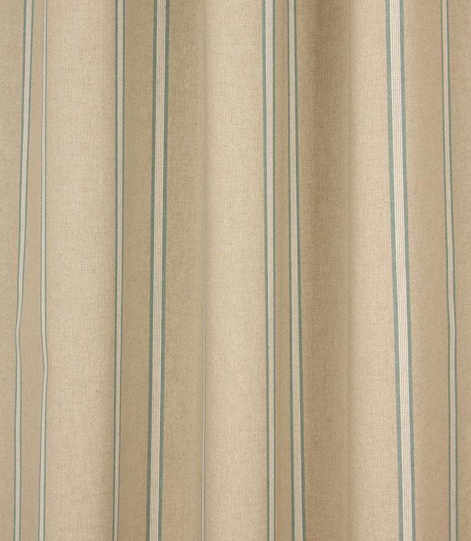 Linen Stripe Fabric / Blue