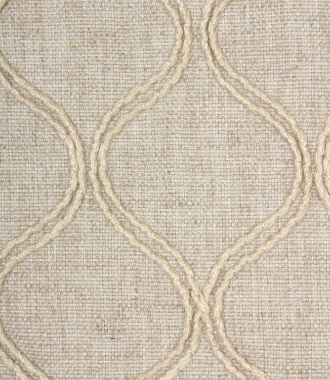 Voyage Decoration Pippin Fabric Silver Just Fabrics