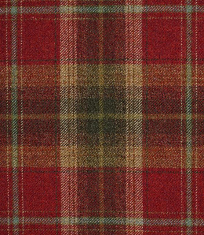 Balmoral Fabric / Claret