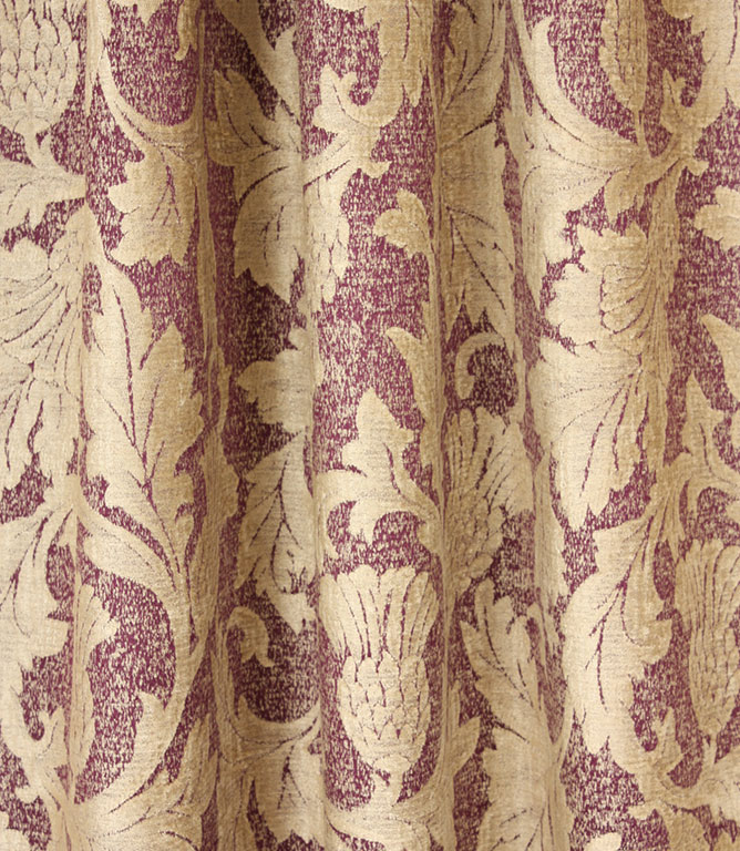 Voyage Decoration Glencoe Fabric / Damson