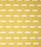 Hound Dog / Ochre Fabric