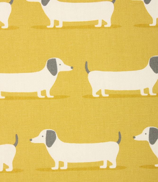 Hound Dog Fabric / Ochre