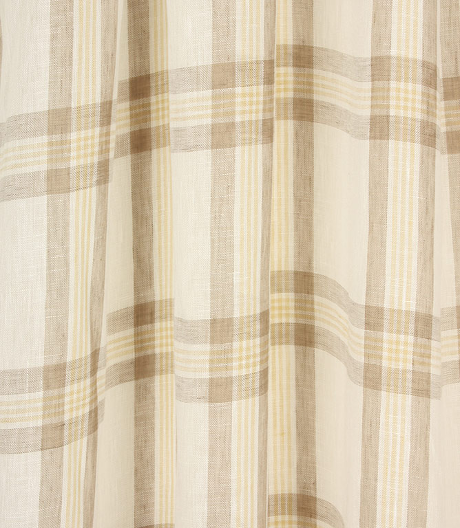 Voyage Decoration Aston Voile Fabric / Lemon