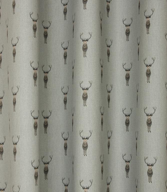 Sophie Allport Highland Stag Fabric / Grey