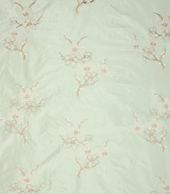 Hanami Silk Fabric / Spearmint