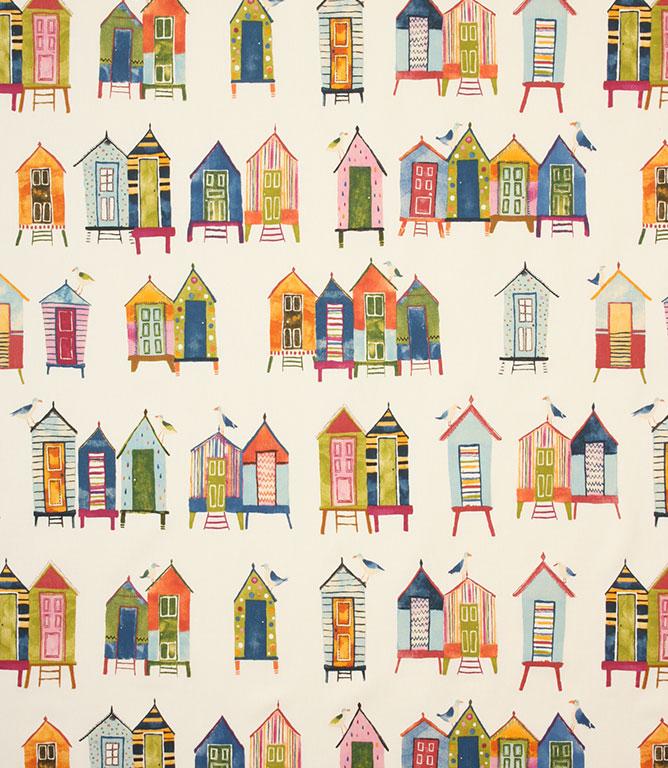 Beach Hut Fabric / Neopolitan