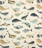 Whale Watching / Antique Fabric