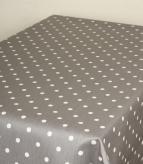 Full Stop Matt PVC / Slate Fabric